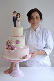 Christina Georgiou at Tasteful cakes
