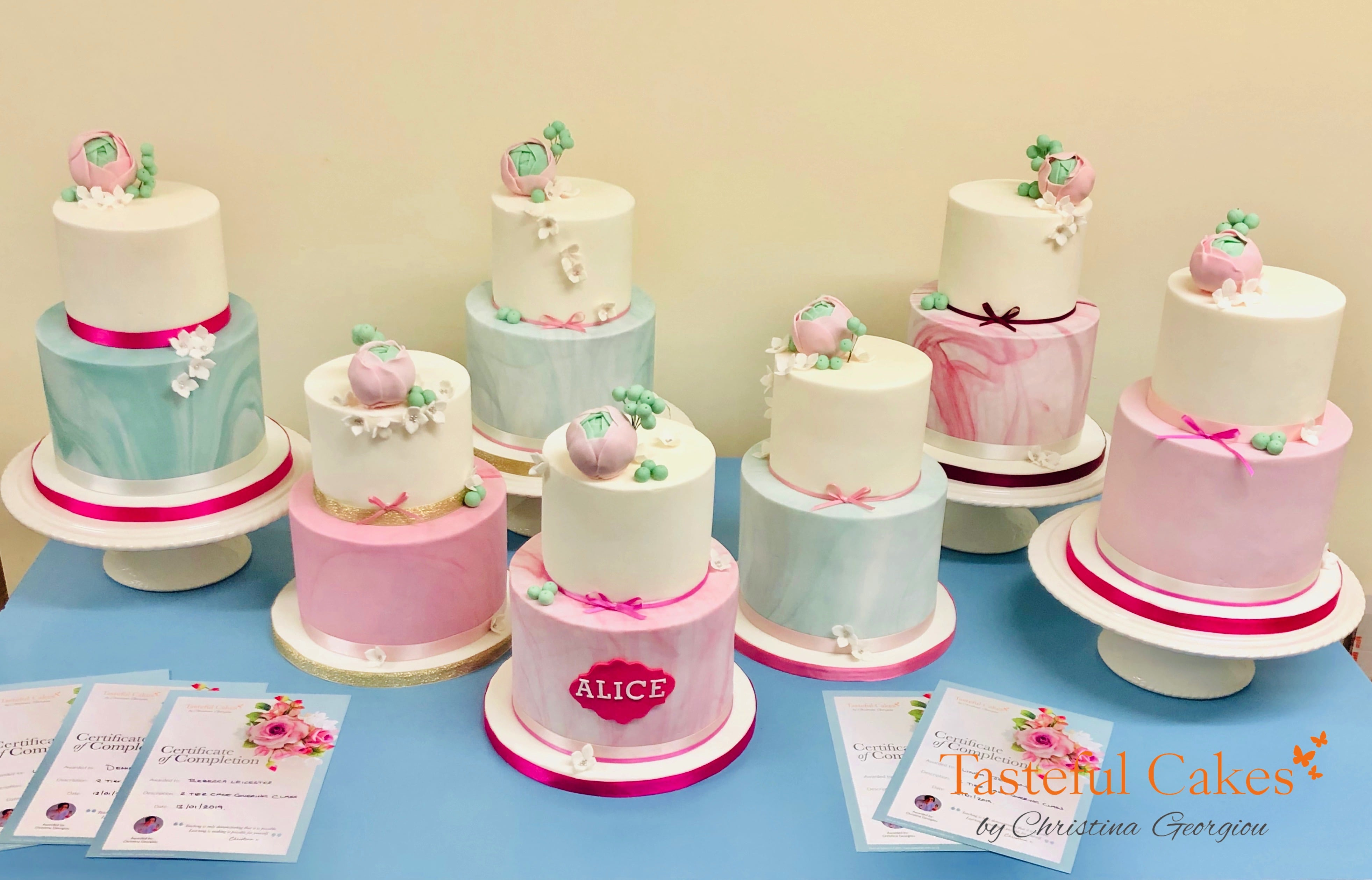 Tasteful Cakes By Christina Georgiou Cake Decorating Classes And
