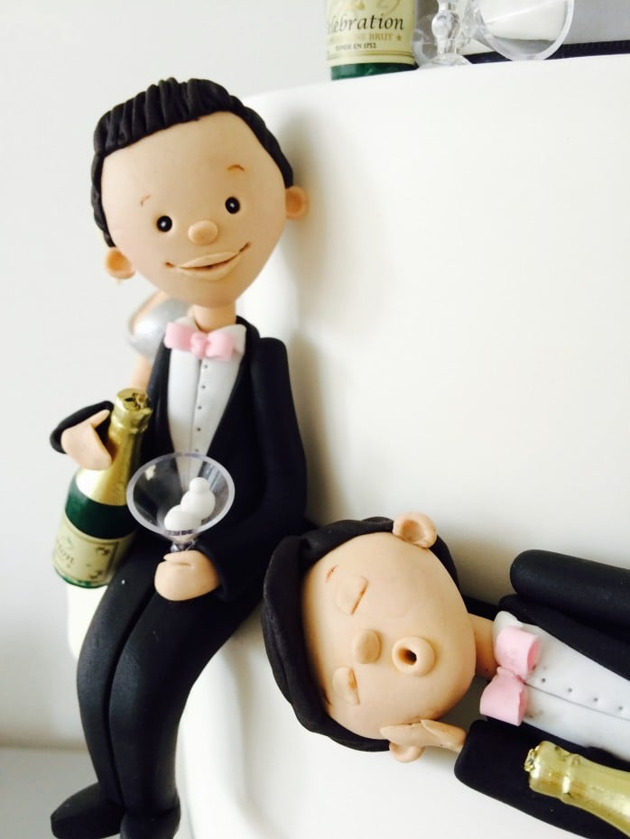 drunk wedding cake toppers uk cakes by georgiou themed 13765