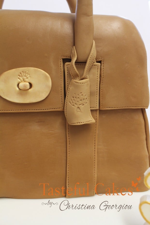 Brown Mulberry handbag, 30th Birthday cake in Essex