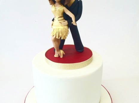 Strictly come dancing cake for Anita Rani 2015. Cakes in Essex, Waltham abbey