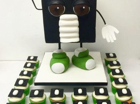 Venty Man cake, ventilation Company cakes