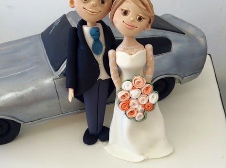 wedding cake toppers bride and groom funny