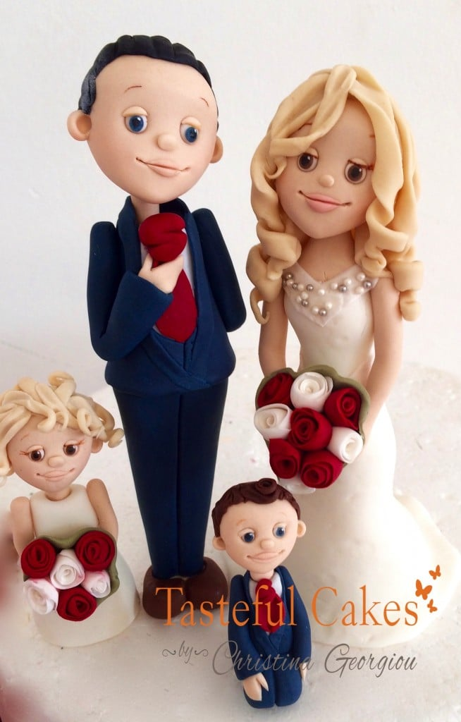 Family Bride and Groom Topper