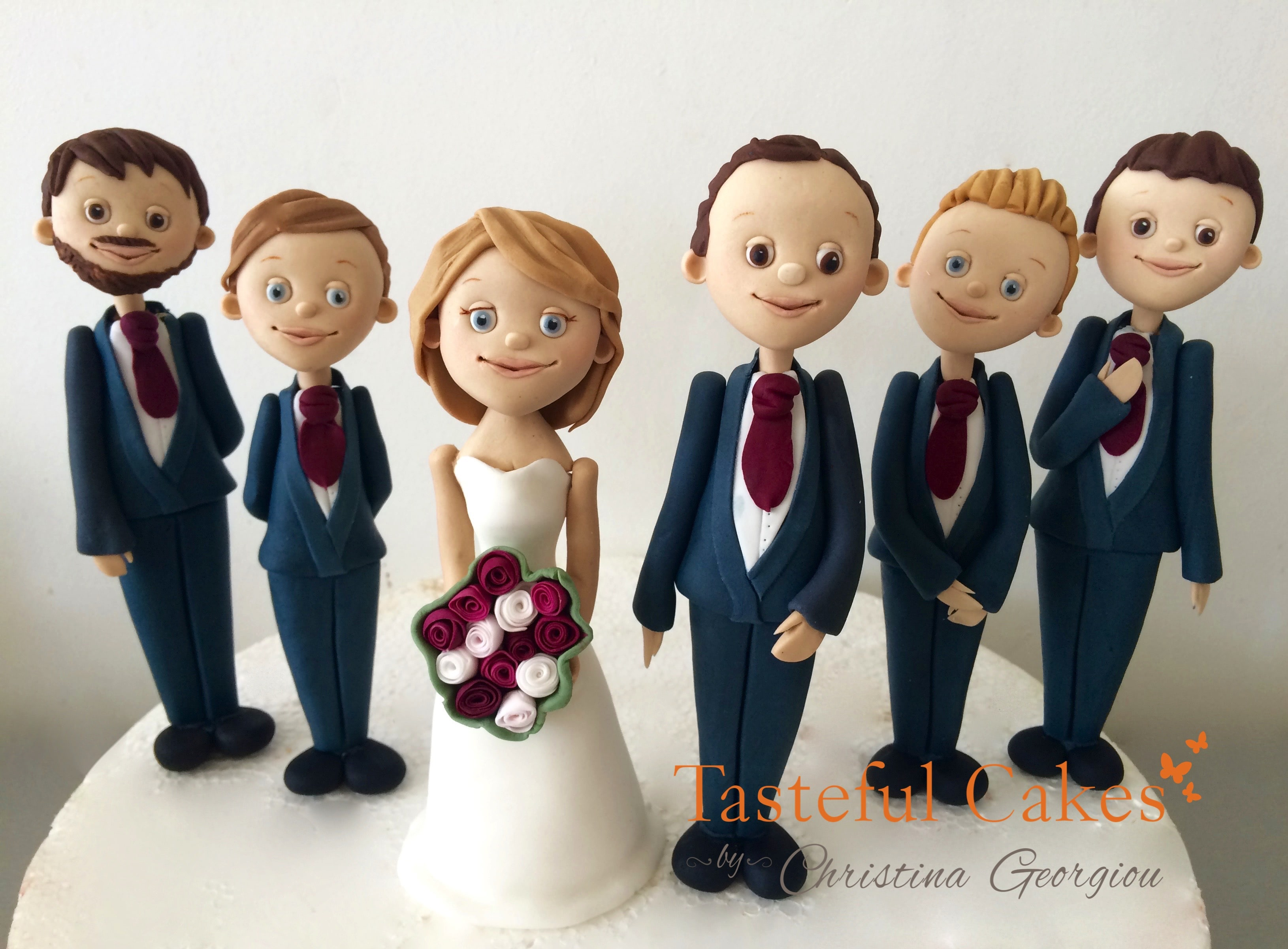 family wedding cake toppers uk cakes by georgiou family wedding cake 14186