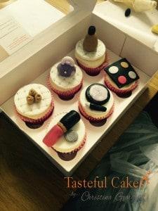 Childrens Make-up Cupcake Class