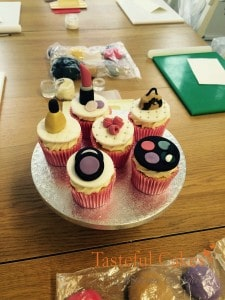 Designed for a Teenagers Cupcake Decorating Party