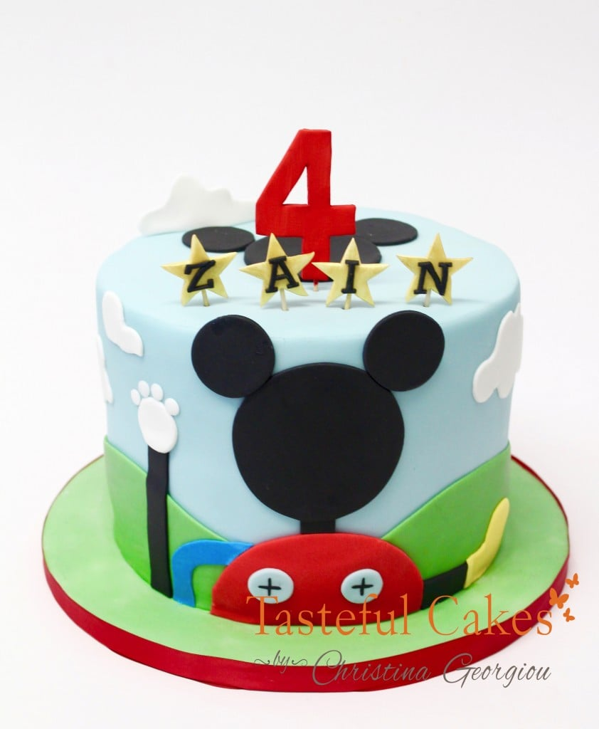 Mickey Mouse Fun House Cake