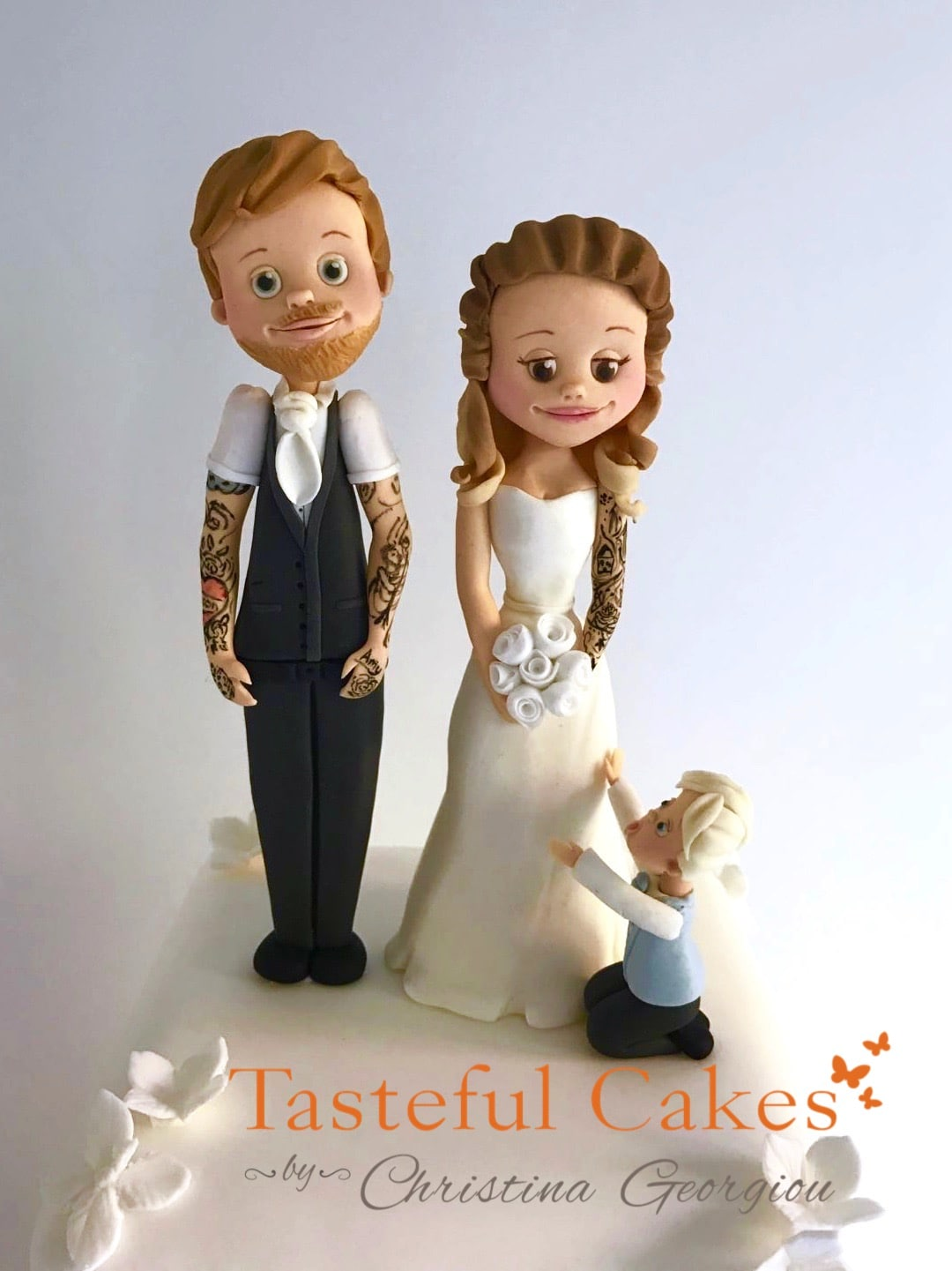 family wedding cake toppers uk cakes by georgiou a personalised 14186