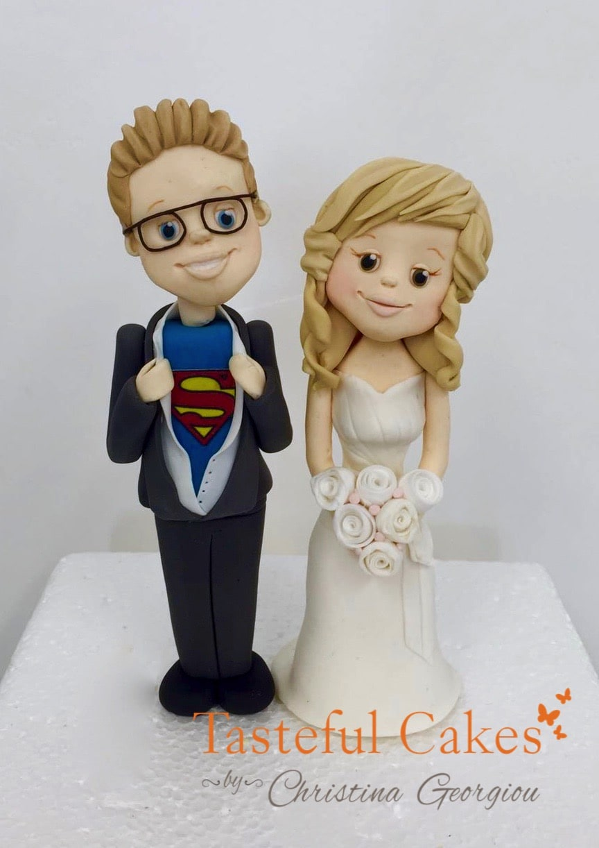 me to you wedding cake toppers uk cakes by georgiou superman groom and 17277