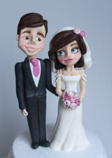 Bride and Groom cake decoration modelling class