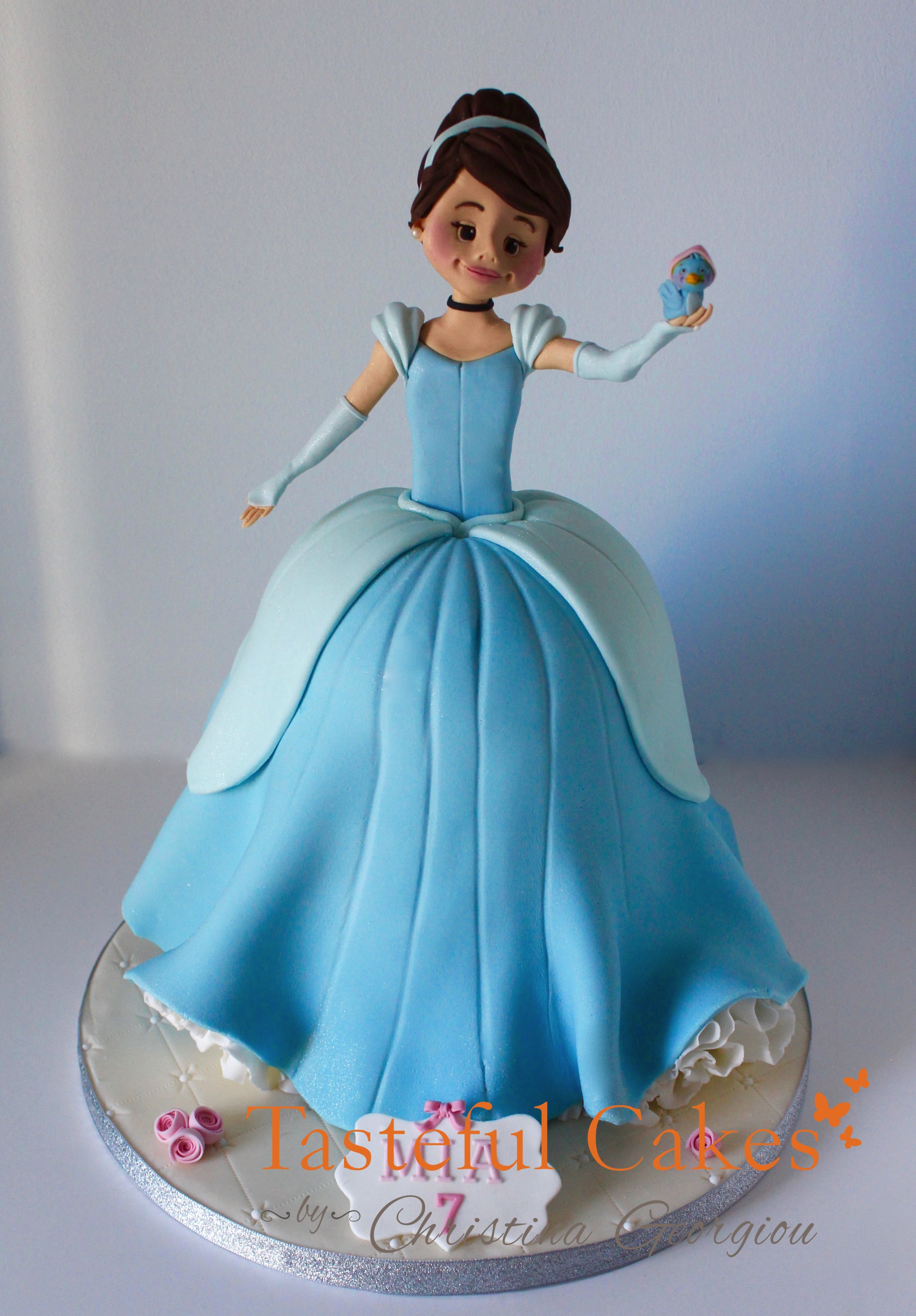 Tasteful Cakes By Christina Georgiou A Personalised Cinderella