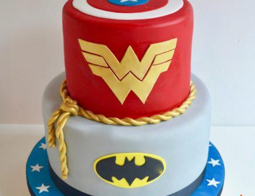 Superhero/Marvel Cake