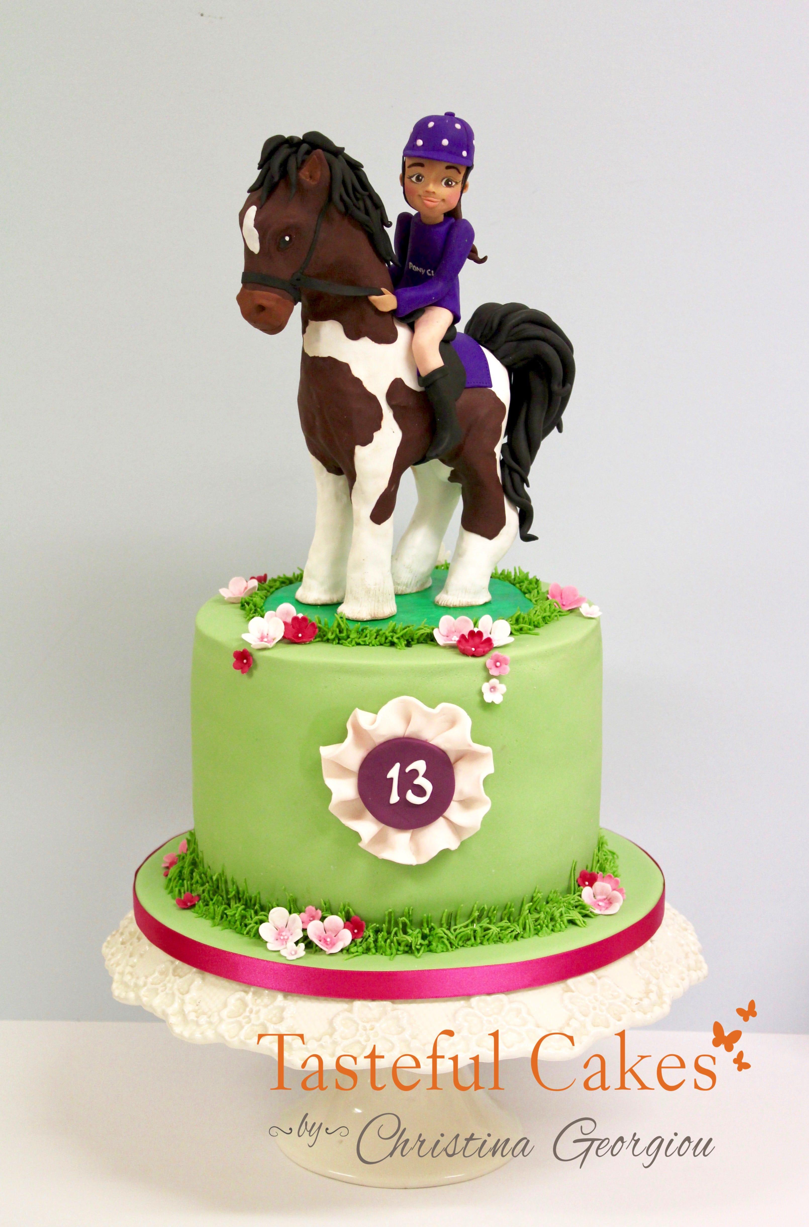 Horse Pony Birthday Cake