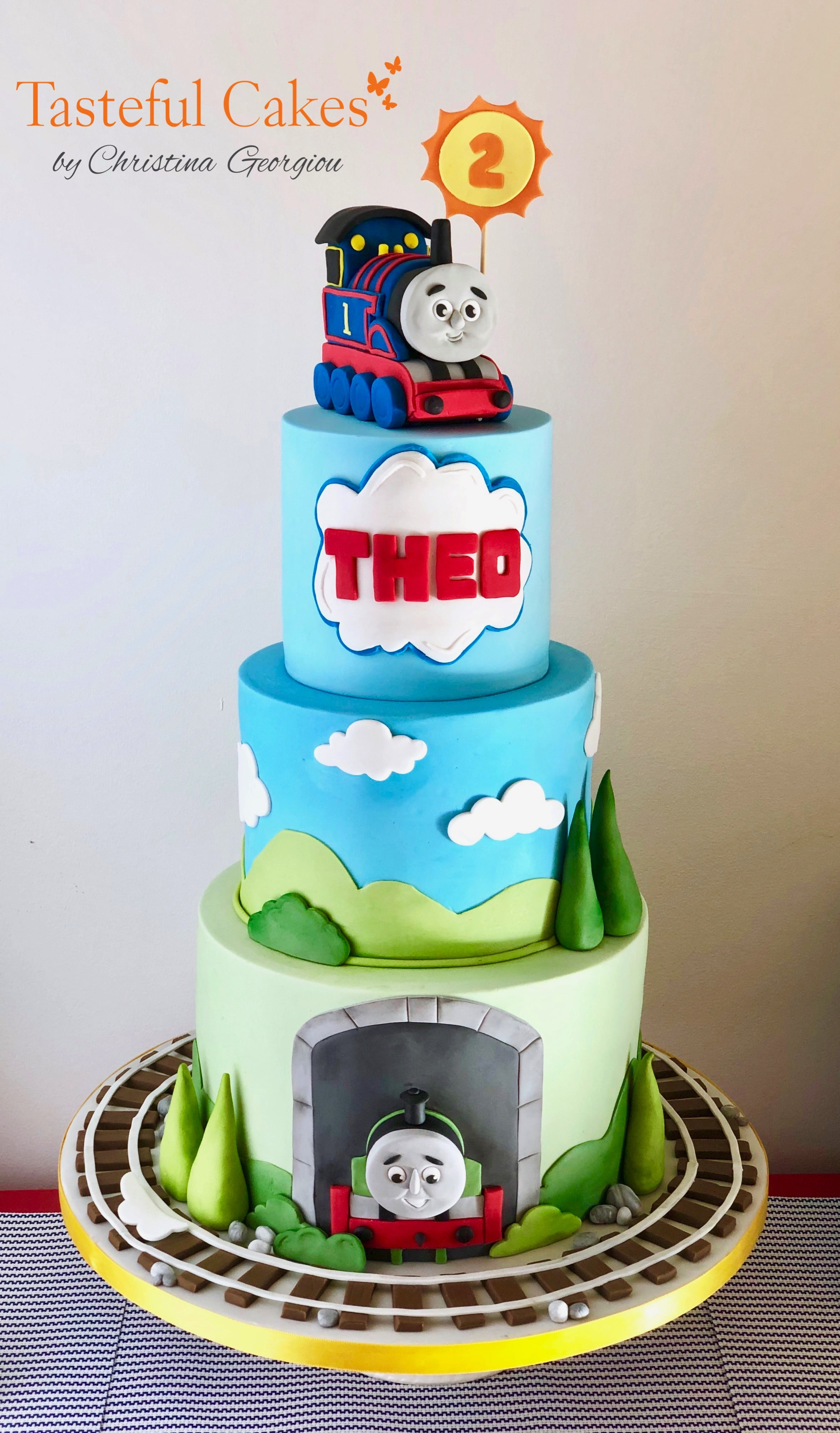 Tasteful Cakes By Christina Georgiou | Thomas The Tank Engine ...