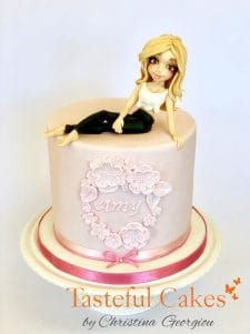 Birthday Girl Topper Cake