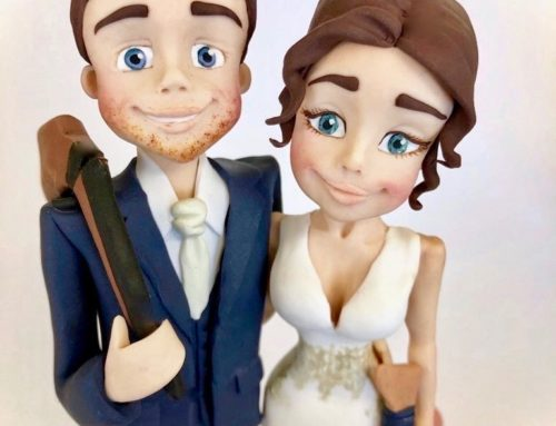 Fun Bride and Groom Topper – Hobby Themed
